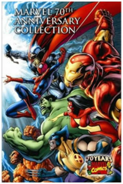 Comic Marvel Comics 70Th Anniversary Collection