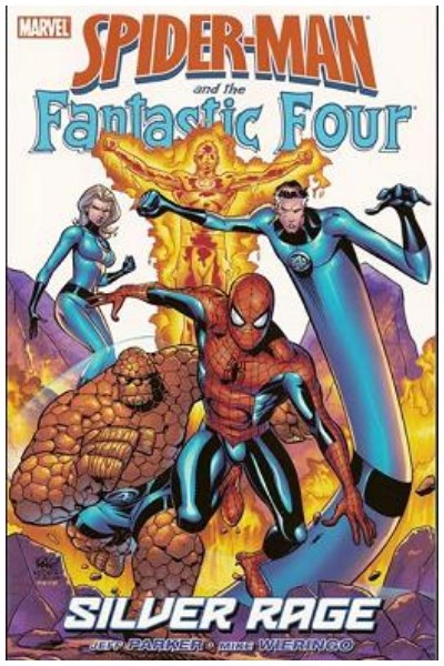 Comic Spider-Man And The Fantastic Four: Silver Rage