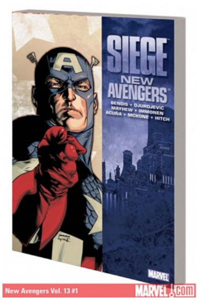 Comic New Avengers: Siege Tpb