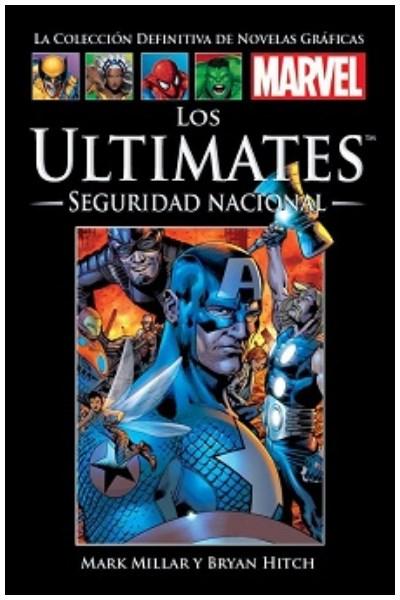 Comic Colección Definitiva Marvel Salvat Los Ultimates: Primer Maxiserie