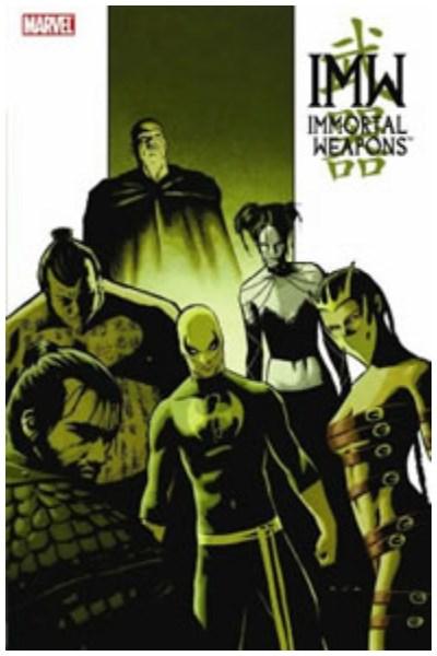 Comic Immortal Weapons Tpb
