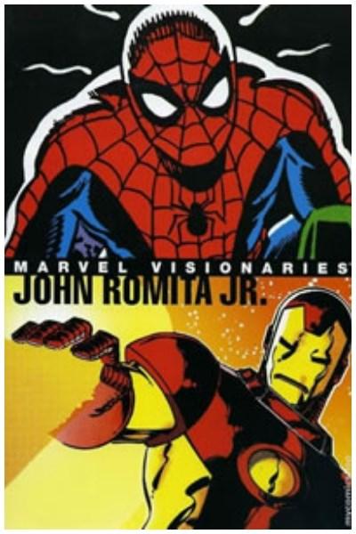 Comic Marvel Visionaries: John Romita Jr. Hc