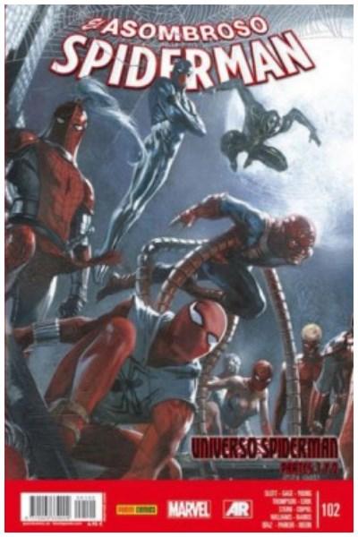 Comic Spiderman Vol. 7 Nº 102 (El Asombroso Spiderman): Universo Spiderman