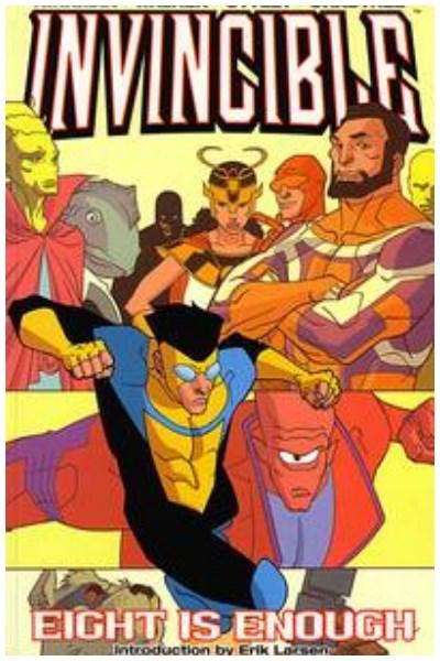 Comic Invincible Tpb Vol. 02 Eight Is Enough