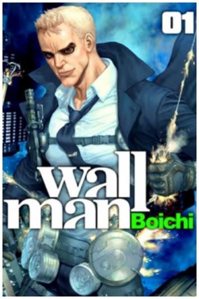 Manga Wallman Lote Completo (Tres Libros)