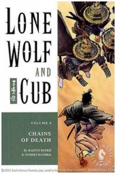 Manga Lone Wolf And Cub Vol. 8: Chains Of Death Tpb