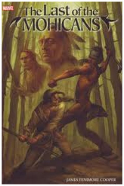 Comic Marvel Illustrated: Last Of The Mohicans Hc