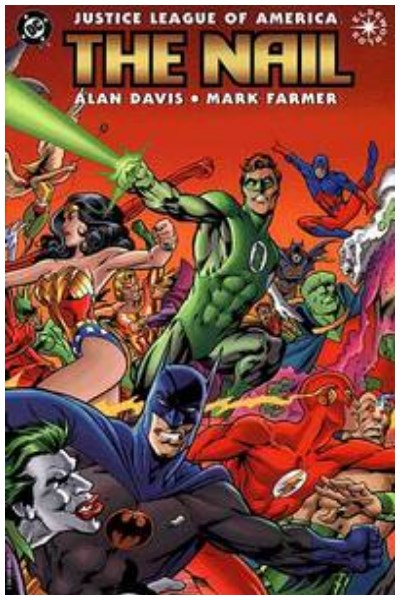 Comic Justice League Of America: The Nail Tpb