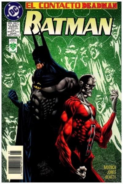 Comic Batman: El Contacto Deadman