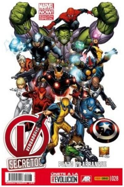 Comic Vengadores Secretos Nº 28