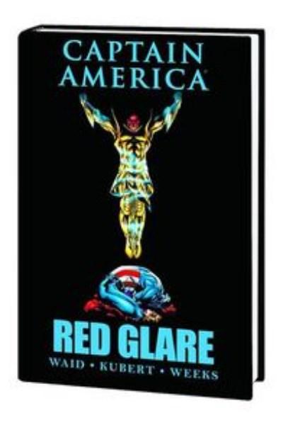 Comic Captain America Red Glare Prem Hc