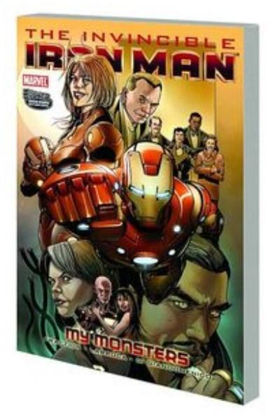Comic Invincible Iron Man Tpb Vol. 07 My Monsters