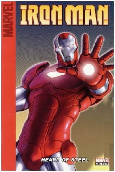 Comic Iron Man: Heart Of Steel