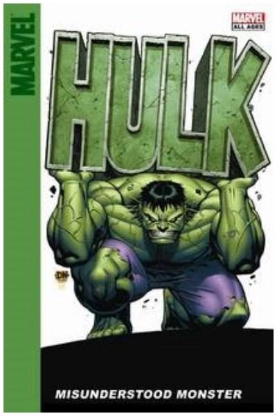 Comic Hulk: Misunderstood Monster