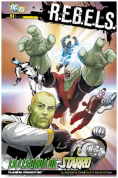 Comic R.E.B.E.L.S. 01