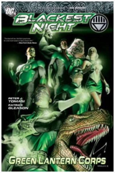 Comic Blackest Night: Green Lantern Corps Hc