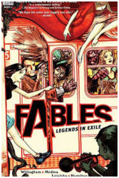 Comic Fables Lote 11 Tpbs Y 1 Hc
