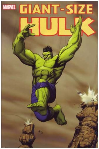 Comic Hulk: Giant Size Hc