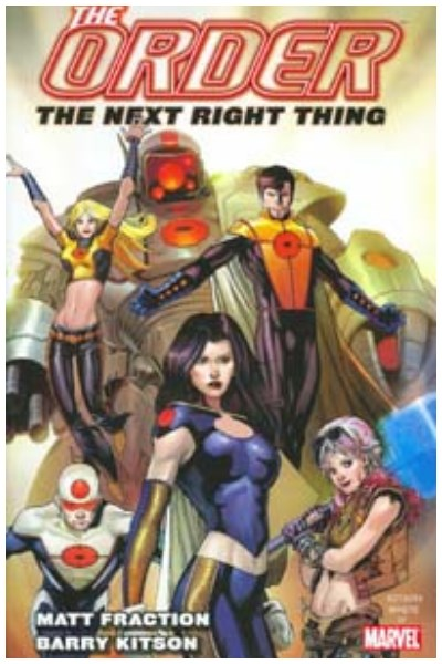 Comic The Order Vol. 1: The Next Right Thing