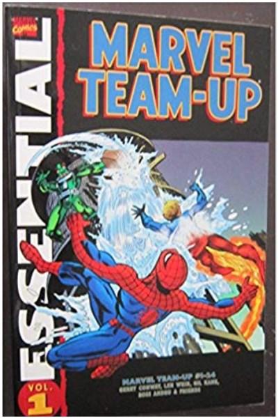 Comic Essential Marvel Team-Up Tp Vol 01 Al 04 Lote Completo (Cuatro Tpbs)