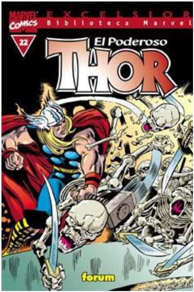 Comic Biblioteca Marvel: Thor Nº 22 Al 37 (Usado)