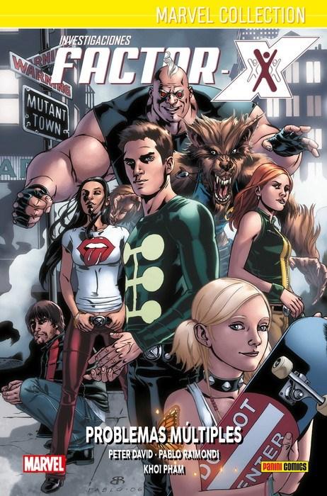 Comic Marvel Collection. Investigaciones Factor-X     2