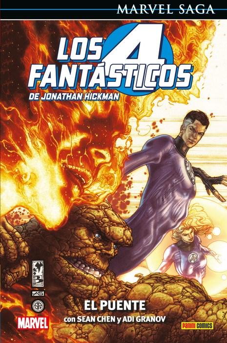 Comic Marvel Saga. Los 4 Fantásticos De Jonathan Hickman 1 El Puente
