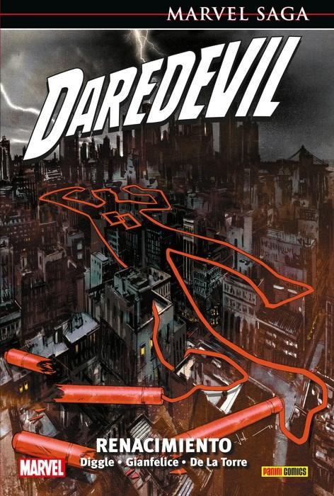 Comic Marvel Saga. Daredevil 24 Renacimiento