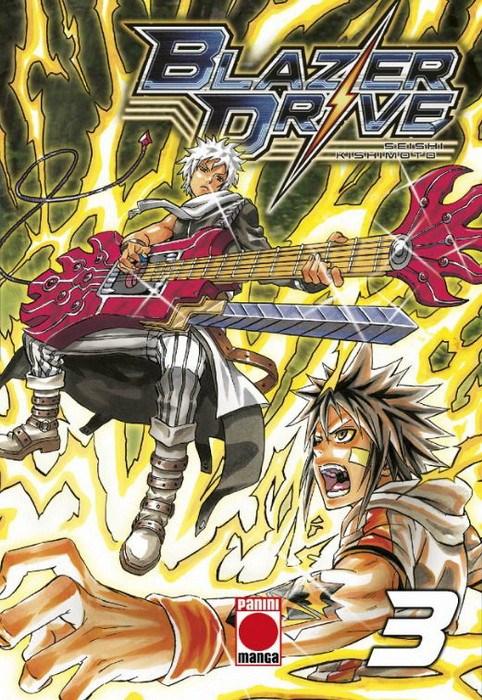 Manga Blazer Drive 3