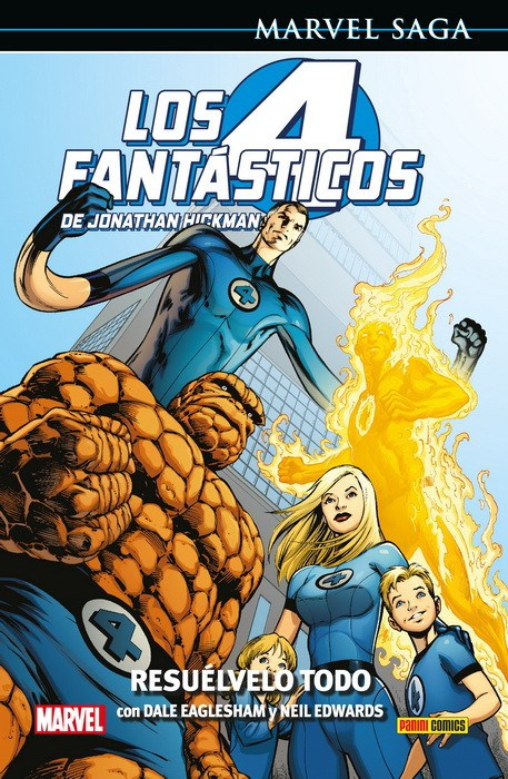 Comic Marvel Saga. Los 4 Fantásticos De Jonathan Hickman 2 Resuélvelo Todo