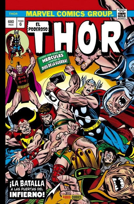 Comic Marvel Gold El Poderoso Thor 6. La Batalla A Las Puertas