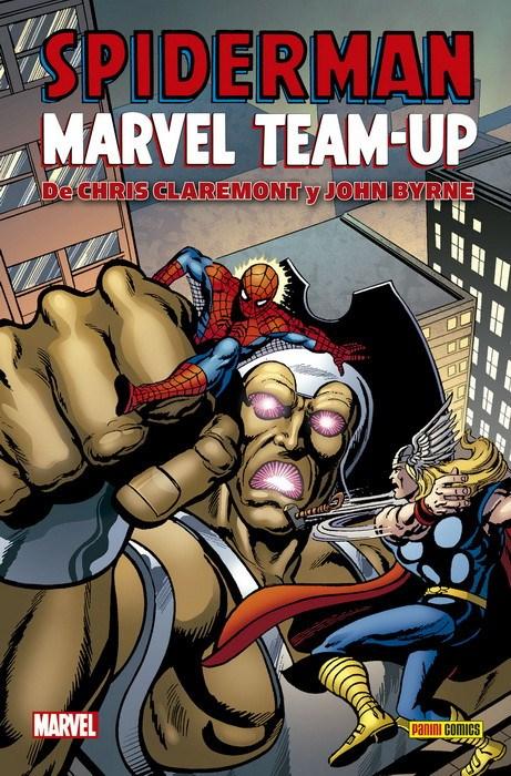 Comic Spiderman Marvel Team-Up De Chris Claremont Y John Byrne