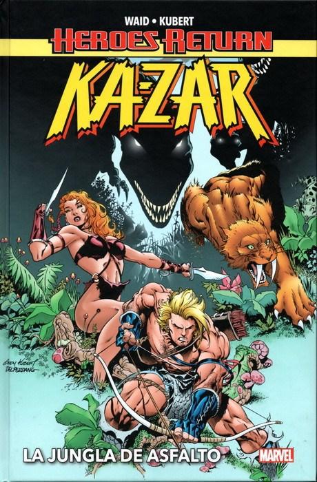 Comic Heroes Return. Ka-Zar: La Jungla De Asfalto