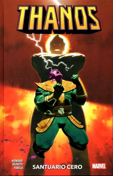 Comic 100% Marvel Hc Coediciones Thanos 4. Santuario Cero