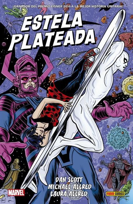 Comic Marvel Omnibus Estela Plateada De Dan Slott Y Mike Allred Marvel Omnibus
