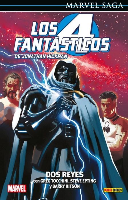 Comic Los 4 Fantásticos De Jonathan Hickman 5. Dos Rey Marvel Saga