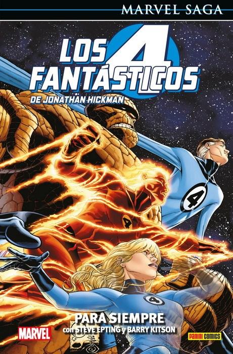 Comic Los 4 Fantásticos De Jonathan Hickman 6. Para Si Marvel Saga