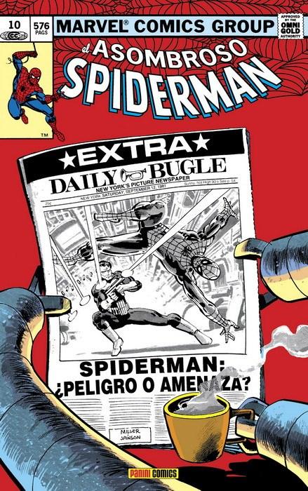 Comic Marvel Gold Spiderman 10. ¿Héroe O Amenaza?