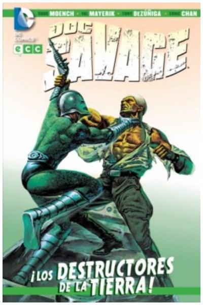 Comic Doc Savage: ¡Los Destructores De La Tierra!