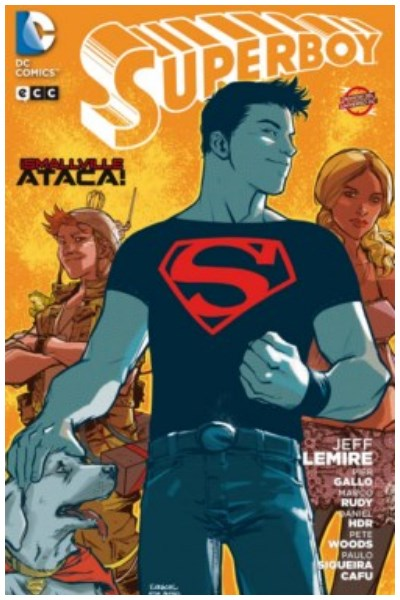 Comic Superboy: ¡Smallville Ataca! (Crónicas Del Universo Dc)