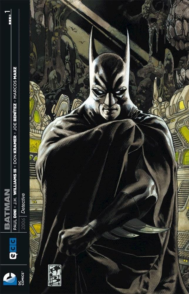 Comic Batman: Detective (Lote Completo) 4 Libros