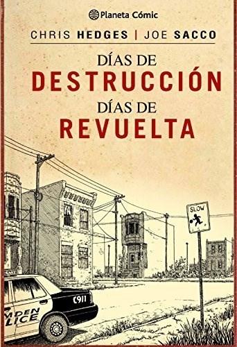 Comic Días De Destrucción, Días De Revuelta (Trazado)