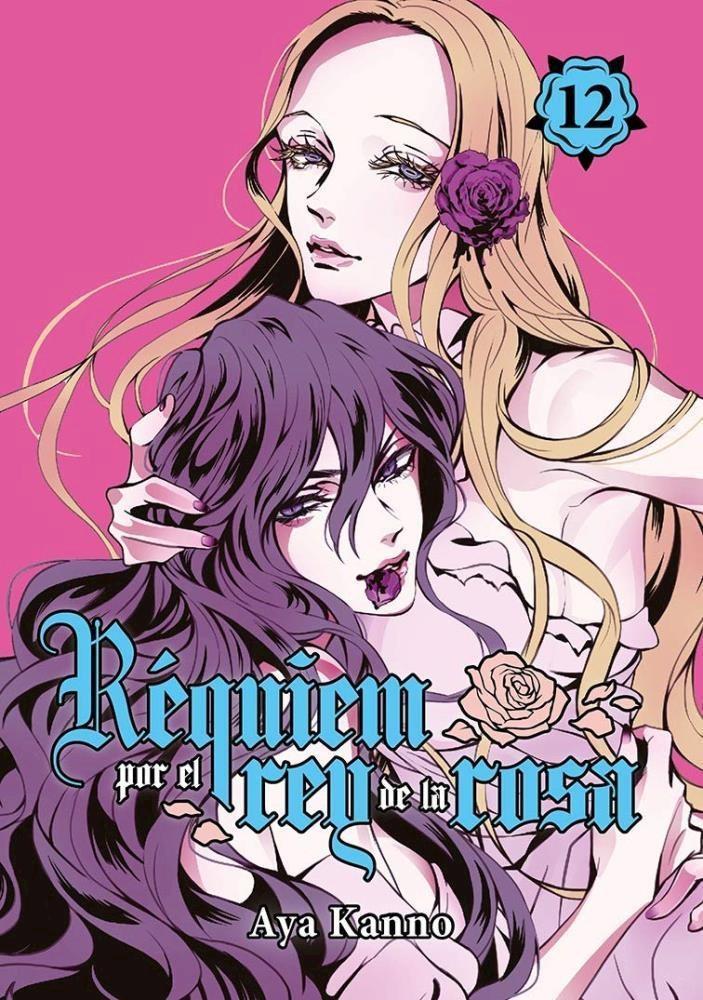 Manga Réquiem Por El Rey Rosa, Vol. 12