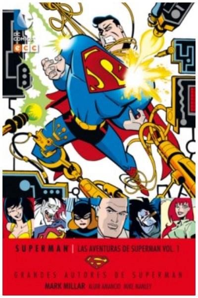 Comic Grandes Autores De Superman: Mark Millar - Las Aventuras De Superman Vol. 01