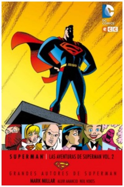 Comic Grandes Autores De Superman: Mark Millar - Las Aventuras De Superman Vol. 02