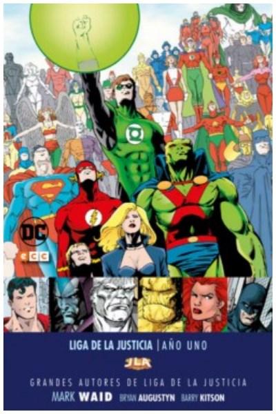 Comic Grandes Autores De La Liga De La Justicia - Mark Waid: Año Uno