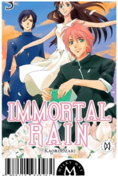 Manga Immortal Rain, Vol. 03