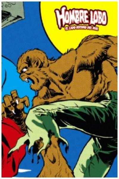 Comic Hombre Lobo 02 (De 3): El Lado Oscuro Del Mal (Marvel Limited Edition)