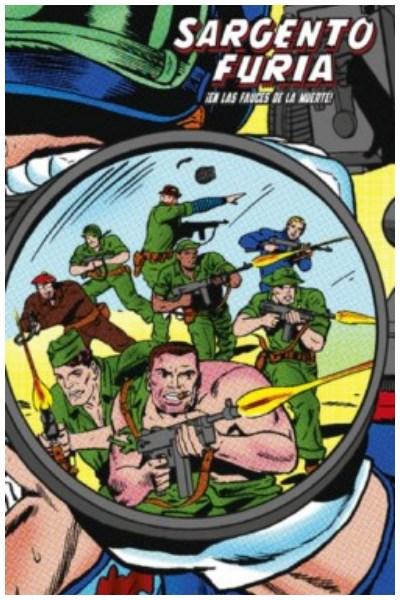 Comic Sargento Furia 02: ¡En Las Fauces De La Muerte! (Marvel Limited Edition)