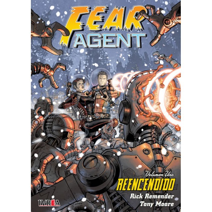 Comic Fear Agent 01: Reencendido